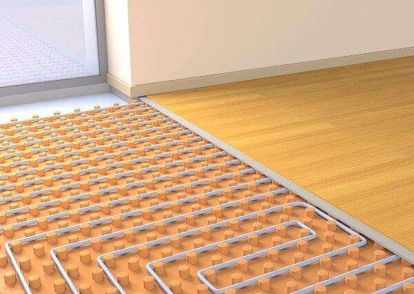 basse temperature pavimento