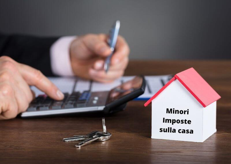 minori imposte e tasse sulla casa