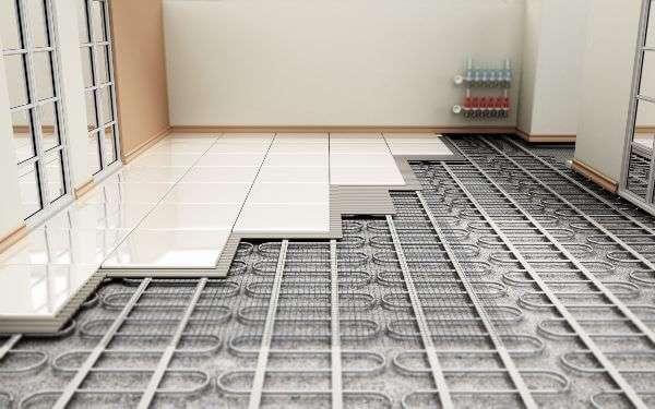 pavimento riscaldato temperatura casa